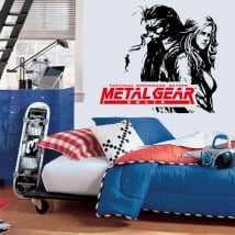 Vinili video gioco metal gear