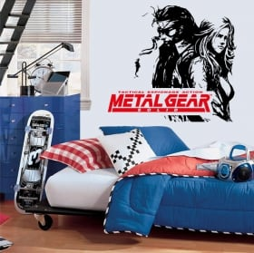 Vinili video gioco metal gear
