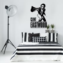 Vinili decorativi clint eastwood dirty harry