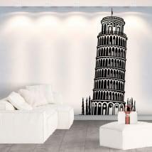 Vinili decorativi e adesivi torre di pisa