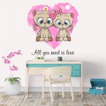 Vinile e adesivi all you need is love