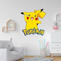 Adesivi pokémon pikachu