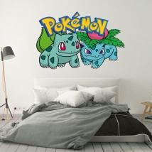 Adesivi pokémon bulbasaur