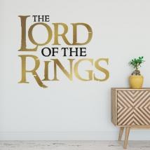 Vinile adesivo signore degli anelli