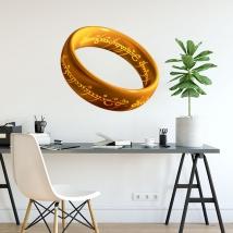 Anello in vinile adesivo il signore degli anelli