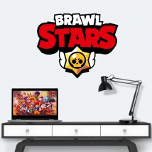 Vinili e adesivi logo brawl stars