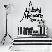 Vinili decorativi harry potter hogwarts graduate