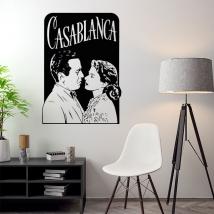 Vinili decorativi film di casablanca