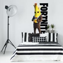 Vinili decorativi banana videogioco fortnite