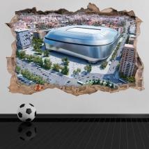 Vinili 3d nuovo stadio santiago bernabéu