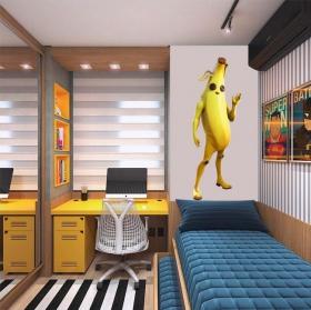 Vinili videogioco fortnite banana