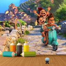 Fotomurali in vinile luca disney pixar