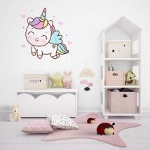 Vinili e adesivi unicorno