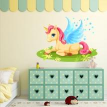 Vinili decorativi e adesivi unicorno magico