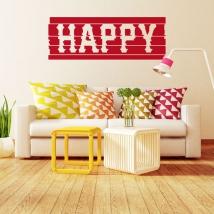 Vinili decorativi e adesivi happy