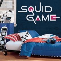 Vinili decorativi e adesivi netflix squid game