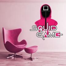 Vinili e adesivi netflix squid game