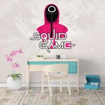 Adesivi netflix squid game