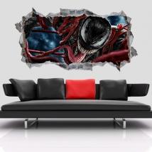 Vinili decorativi 3d marvel venom